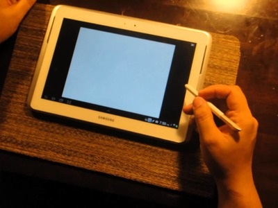 Tablet out of paper