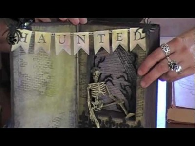 Wicked Altered book Class Sample