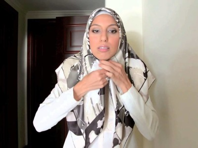 Beautiful Turkish Hijab Style 3 Ways Tutorial - Haute Hijab