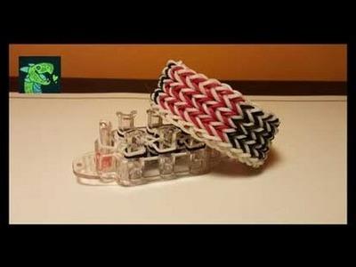 Cornrow Bracelet on the Monster Tail Loom