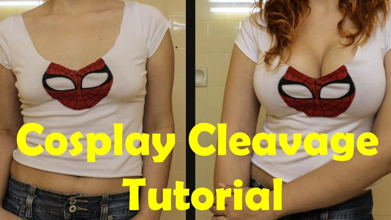 Cosplay Cleavage Tutorial