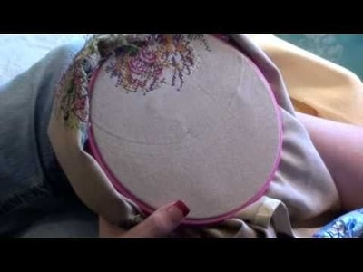 Cross Stitching over 2 on Linen - Julie's Cross Stitch Tips