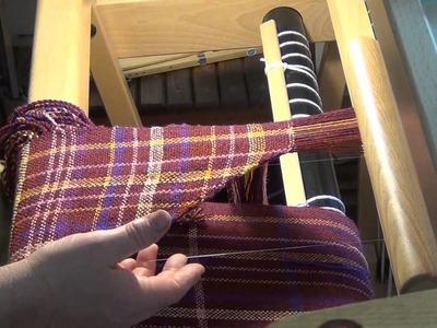 Double Weave L Shawl part 2