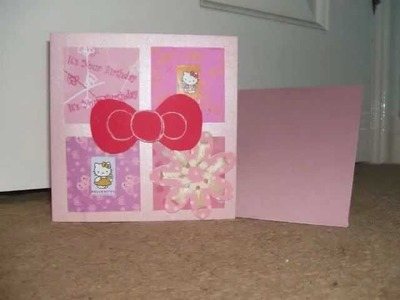 Female Birthday - Handmade cards Made by Emma