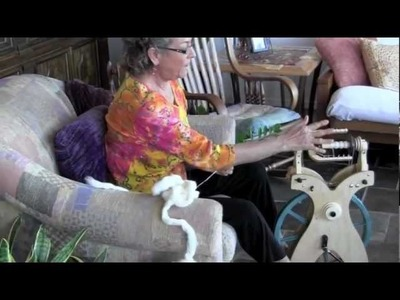 From Start To Finish: Cotton Spinning On A Wheel