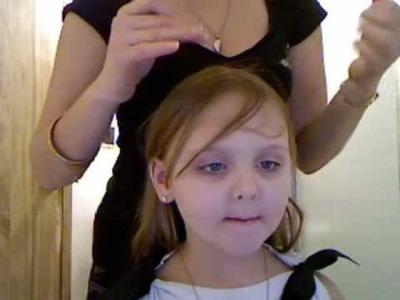 Hair Flairs Tutorial For Little Girls| LadyLuckTutorials