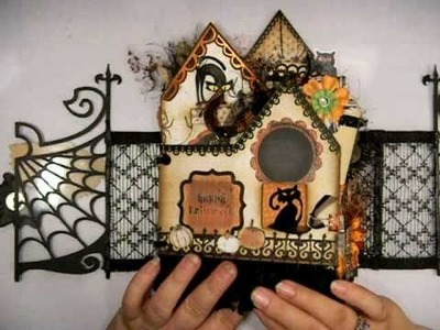 Halloween Mini Album - The Witches Inn