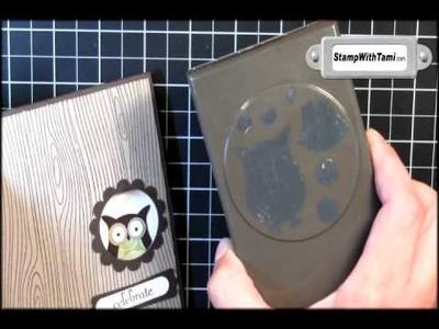 Hooty the Owl Punch Tree Card