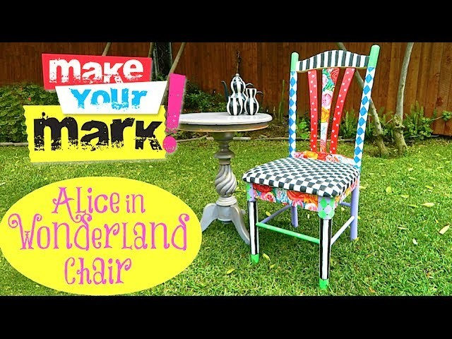 How to: Alice in Wonderland Chair