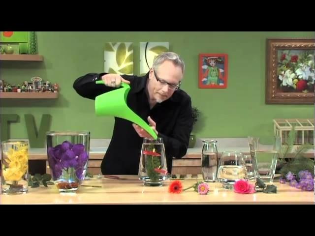 How to Arrange Flowers- Create Submerged Flower Arrangements!