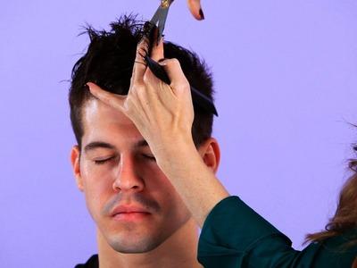 How to Cut Top Hair for Backward Motion | Hair Cutting
