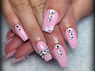 How to do Coffin Shaped nails