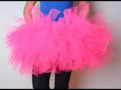 How to make a TuTu skirt!
