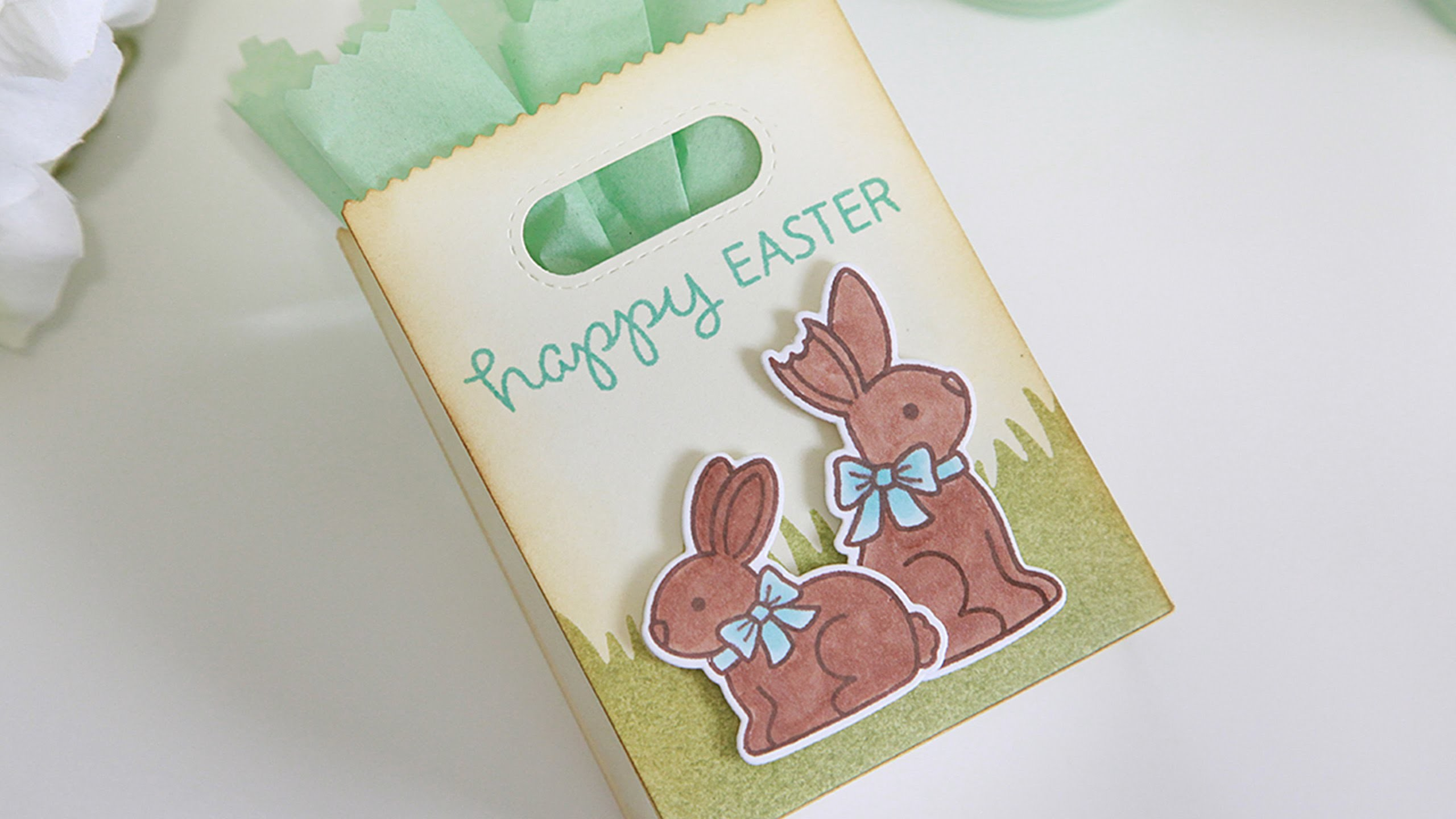 How to make an Easter treat bag