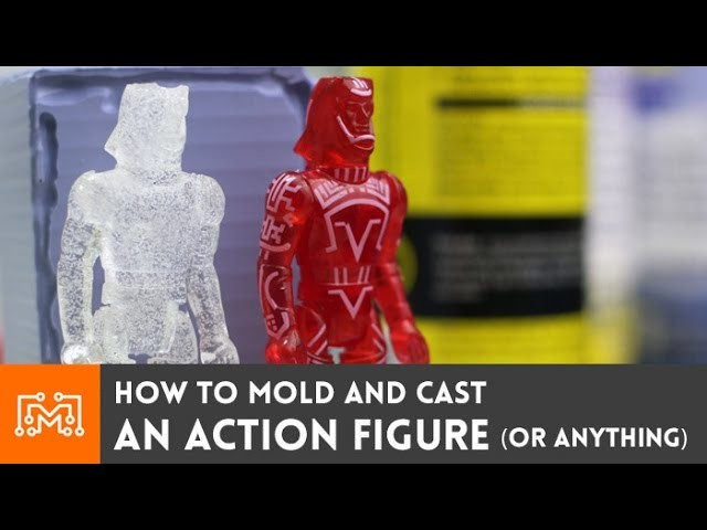 How to mold and cast an action figure ( or anything )