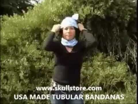 How To Use a Motley Tube, Tubuar Bandana Buff Neck Gaiter