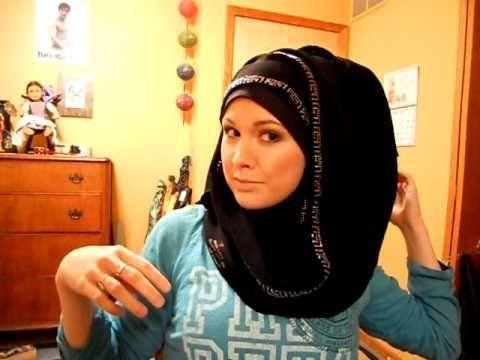 Khaleeji hijab tutorial