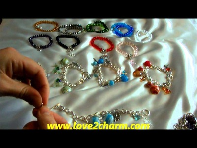 Love2charm: How to make charm bracelets without using tools