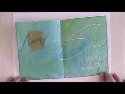 Ocean of truth - a paste paper book