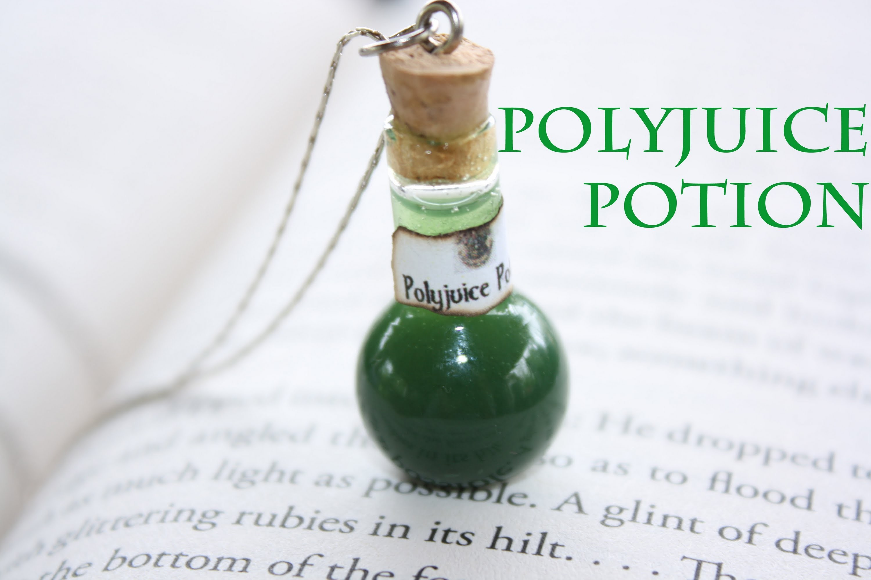 Polyjuice : Harry Potter Potion Ep. # 2 Bottle Jar Charm : Resin Tutorial