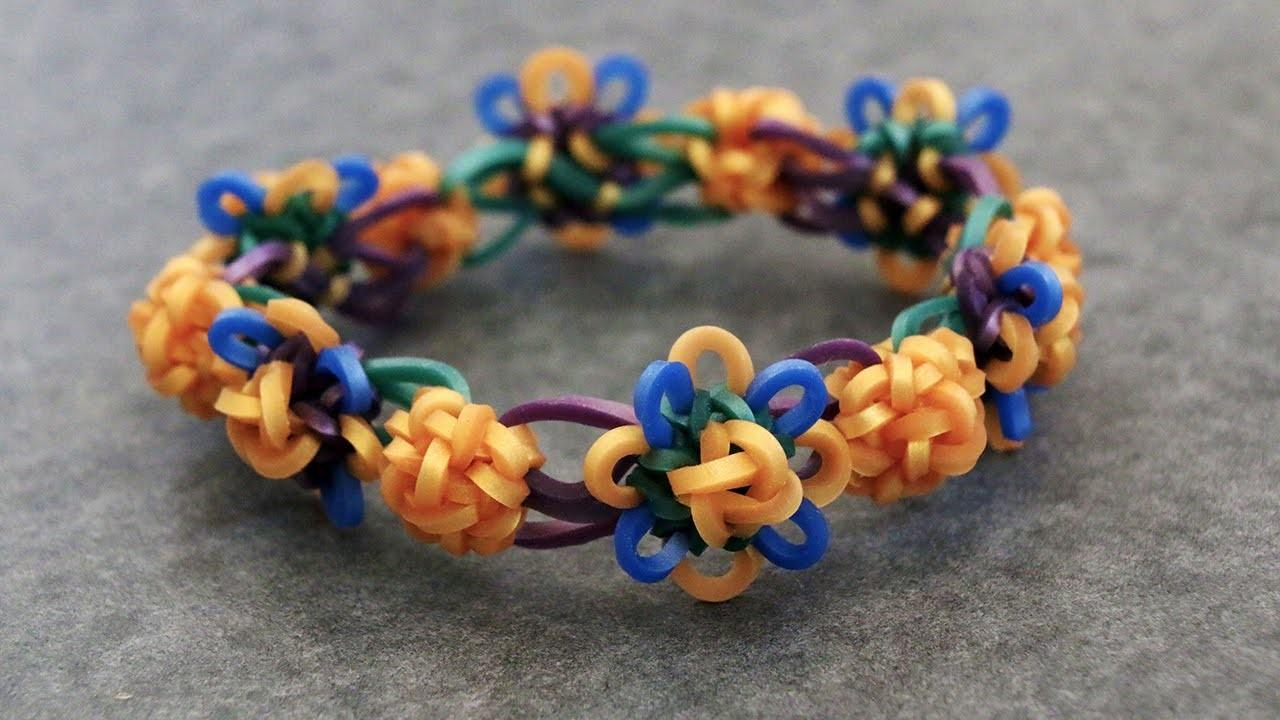 Rainbow Loom™ MonsterTail™ Celtic Knot Charm Bracelet Tutorial
