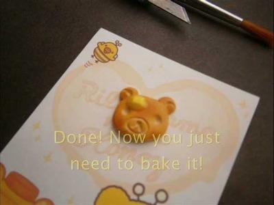 Rilakkuma Pancake Tutorial - Polymer Clay