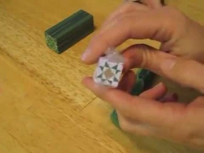 Tutorial:  How to form a polymer clay triangle cane
