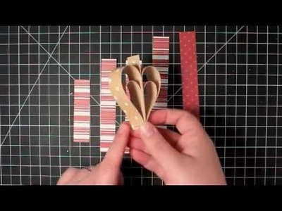 12 Days of Christmas  Day 8 - Paper Heart