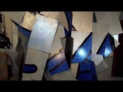 "Contemporary art:  2D,3D,4D painting sculpture installation "". F1 Papillon""  by K.I.A."