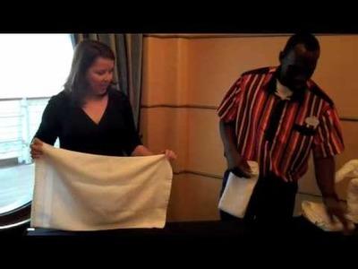 Deb learns the art of Towel Folding.m4v