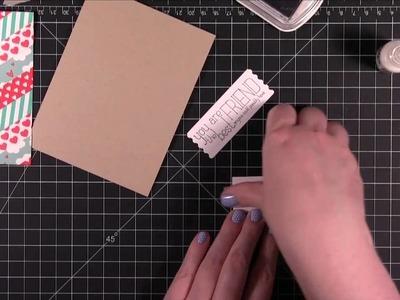 Die cut washi tape