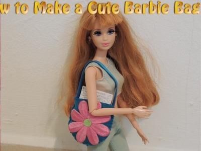 Easy Barbie Doll Bags Tutorial 2