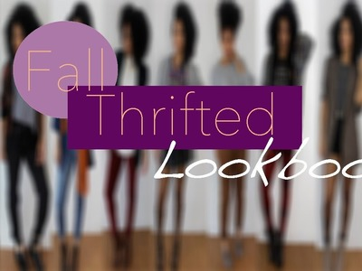 Fall Thrift Lookbook #NotoriouslyStyled
