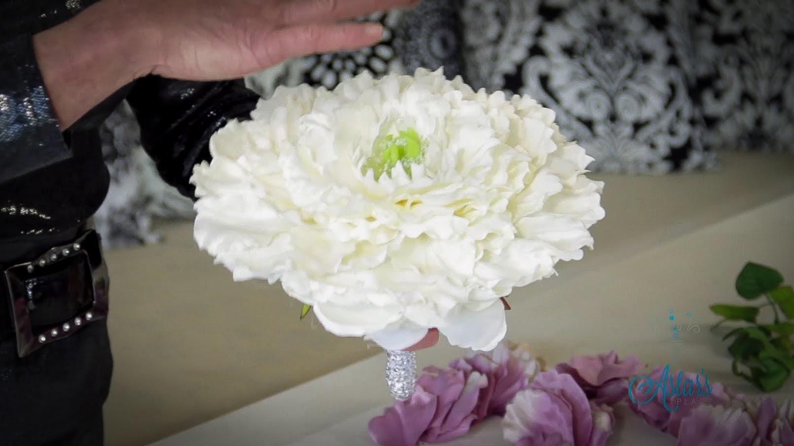 Floristry Tutorial: How to make a Glamelia