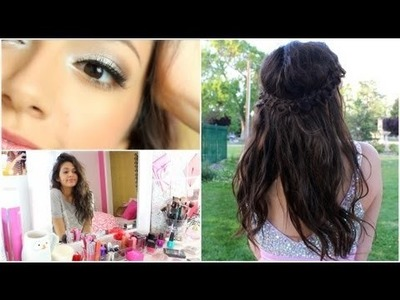 Getting Prom Ready: Makeup, Hair, + My dress!