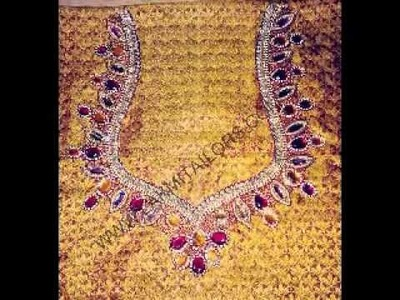 Hand Embroidery blouse works Lakmi ladies tailors