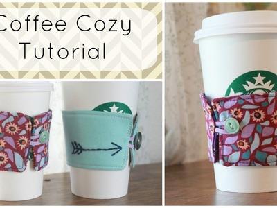 Handmade Coffee Cozy Tutorial