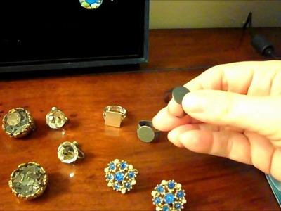 Handmade Rings from Vintage Jewelry Update