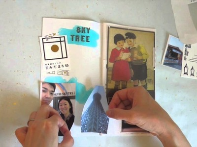 How I Journal My Trips or Events Ep.3 Process Video | Midori Traveler's Notebook