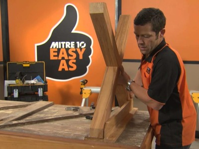 How to Build a Dining Table | Mitre 10 Easy As