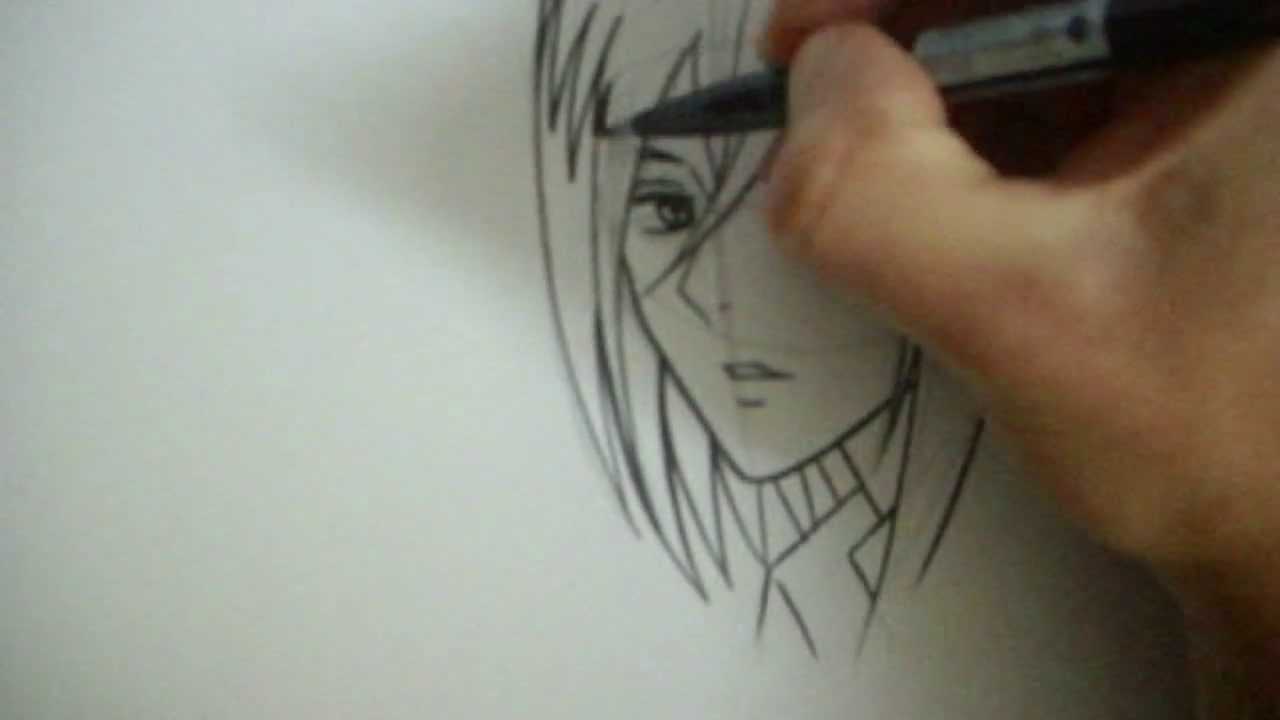 How To Draw Mikasa Ackerman (Shingeki no Kyojin)