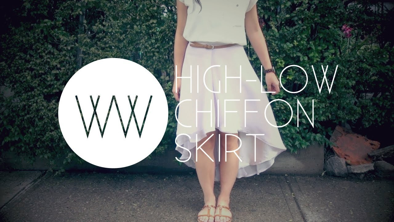 How to Make a High-Low Chiffon Skirt