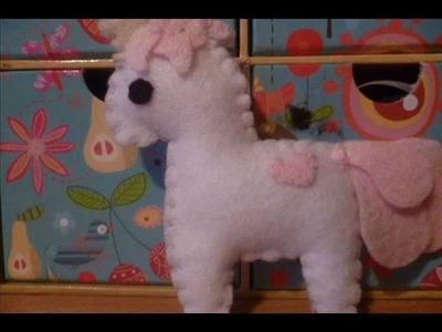 How to Make a Kawaii Unicorn Plushie (Plush Tutorial)