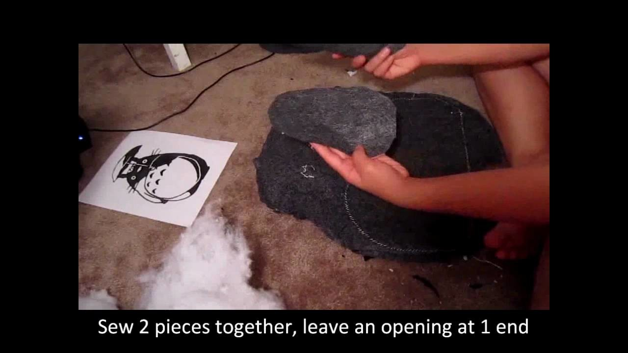 How to make a Totoro plushie (from My Neighbor Totoro)