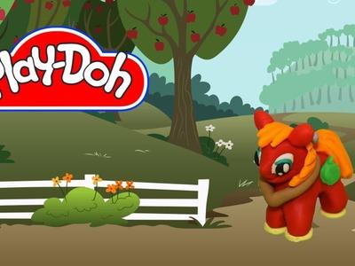How to make Play Doh Big Macintosh My Little Pony