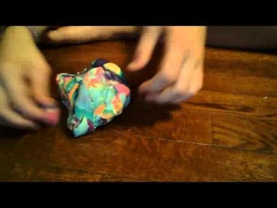 How to make play doh soft again