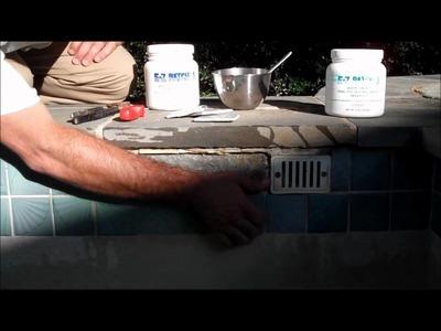 How to Repair Pool Tile, Part 1