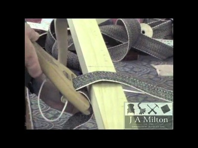 How to use a Webbing Strainer. Stretcher.m4v