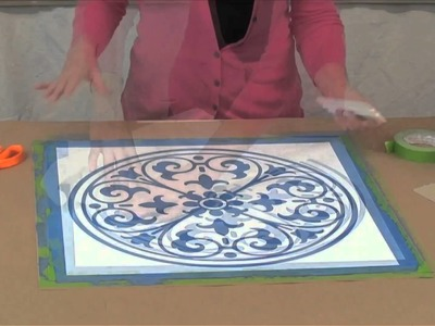 How to use SkimStone and Modello Masking Stencils, Part 4
