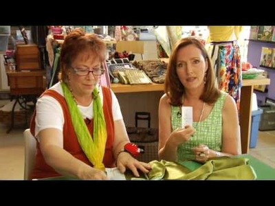 """Jane's Sew & So - """"Embroidered Silk Stole"""""""